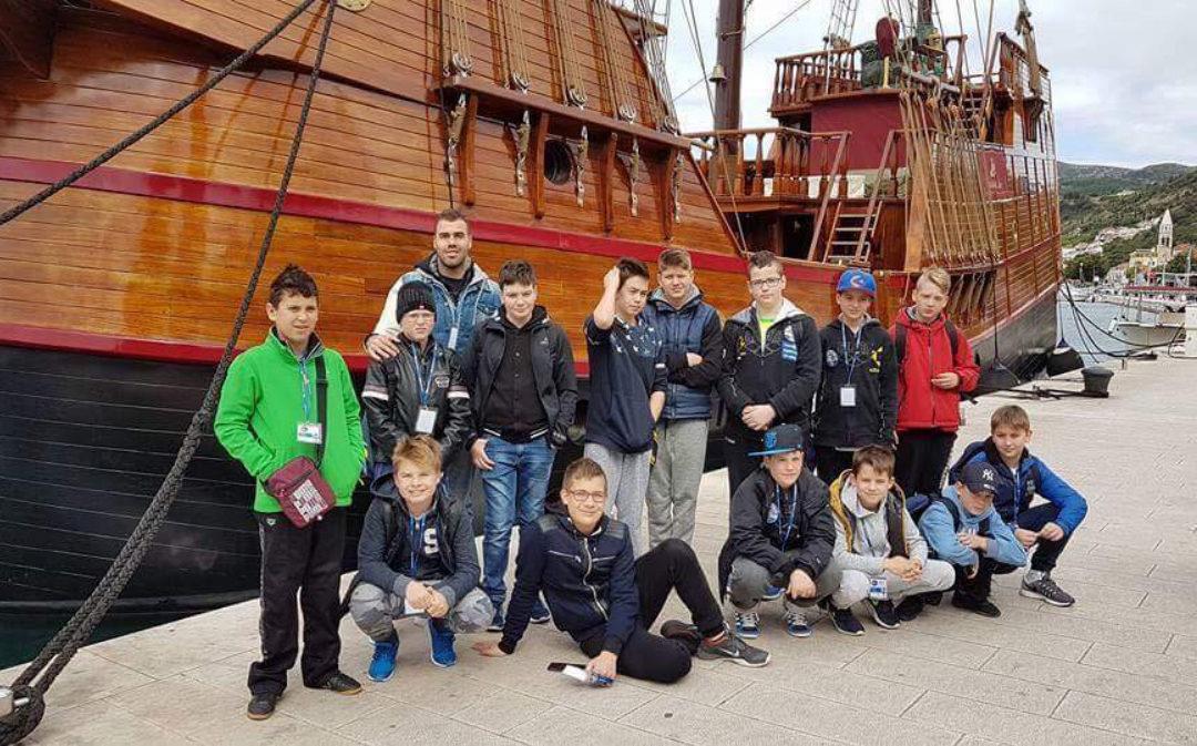 Dubrovnikban szerepelt csapatunk