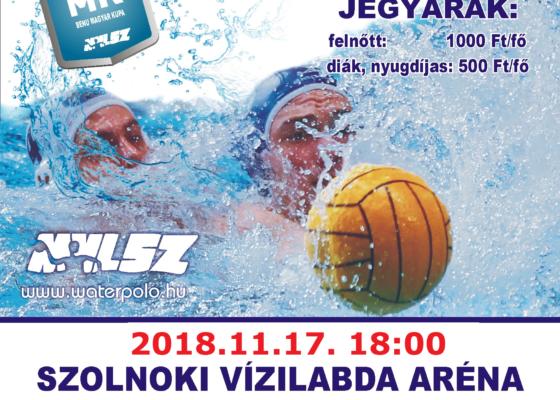 BENU Magyar Kupa negyed döntő