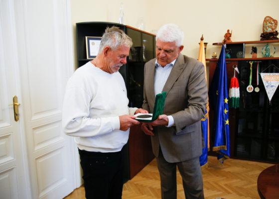 Rangos elismerést kapott id. Cseh Sándor